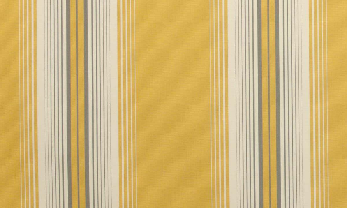 Markisväv 968-12 - Ljushärdighet: 7-8 på en 8:a gradig skala - Komposition: 100% spinnfärgad akryl - Tvättbarhet: Ljummen tvållösning (max 30º C)