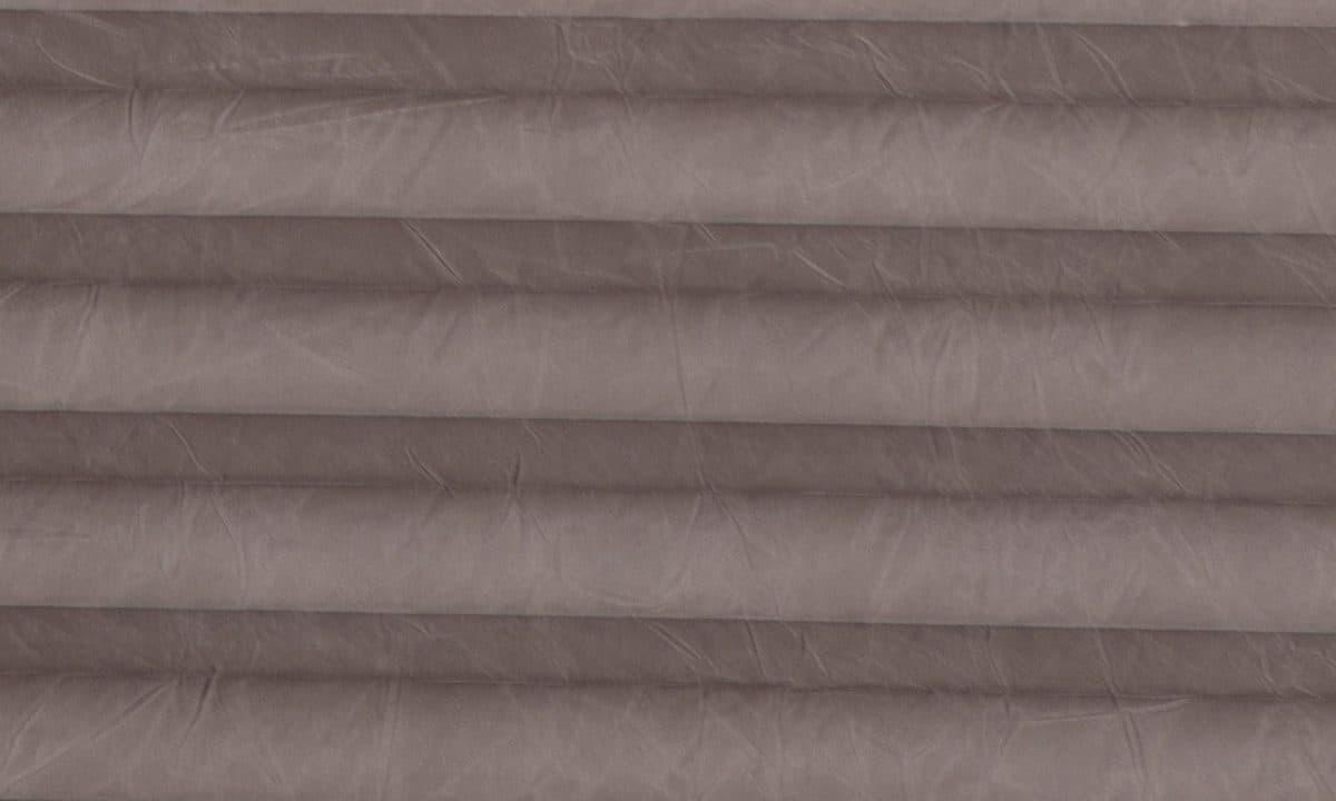 Plisséväv Crush pearl 10453 - Semitransparent - Lämplig i fuktig miljö - Komposition: 100% polyester - Ljusäkthet (färgäkthet): ≥ 5-6 beroende på färg - Prisgrupp 1