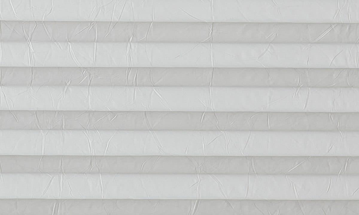 Plisséväv Crush pearl 7004 - Semitransparent - Lämplig i fuktig miljö - Komposition: 100% polyester - Ljusäkthet (färgäkthet): ≥ 5-6 beroende på färg - Prisgrupp 1
