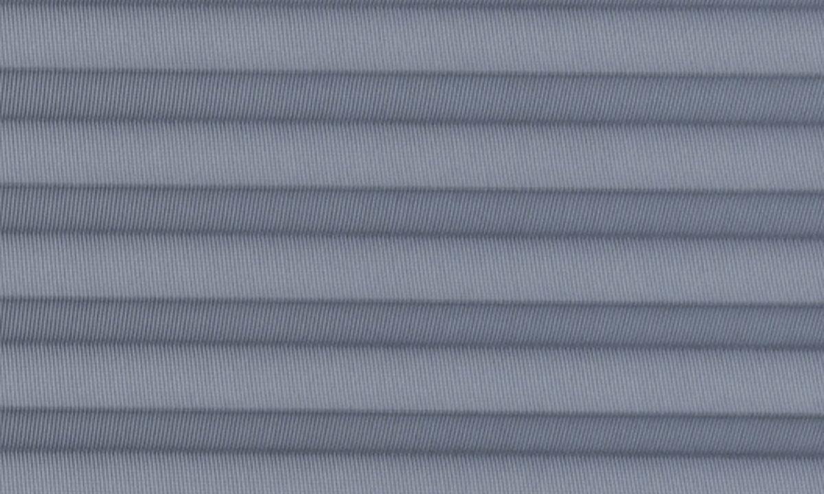 Plisséväv New york 7103 - Transparent - Flamskyddad - Metalliserad baksida - Lämplig i fuktig miljö - Komposition: 100% Trevira CS - Ljusäkthet (färgäkthet): ≥ 5-7 beroende på färg - Prisgrupp 2