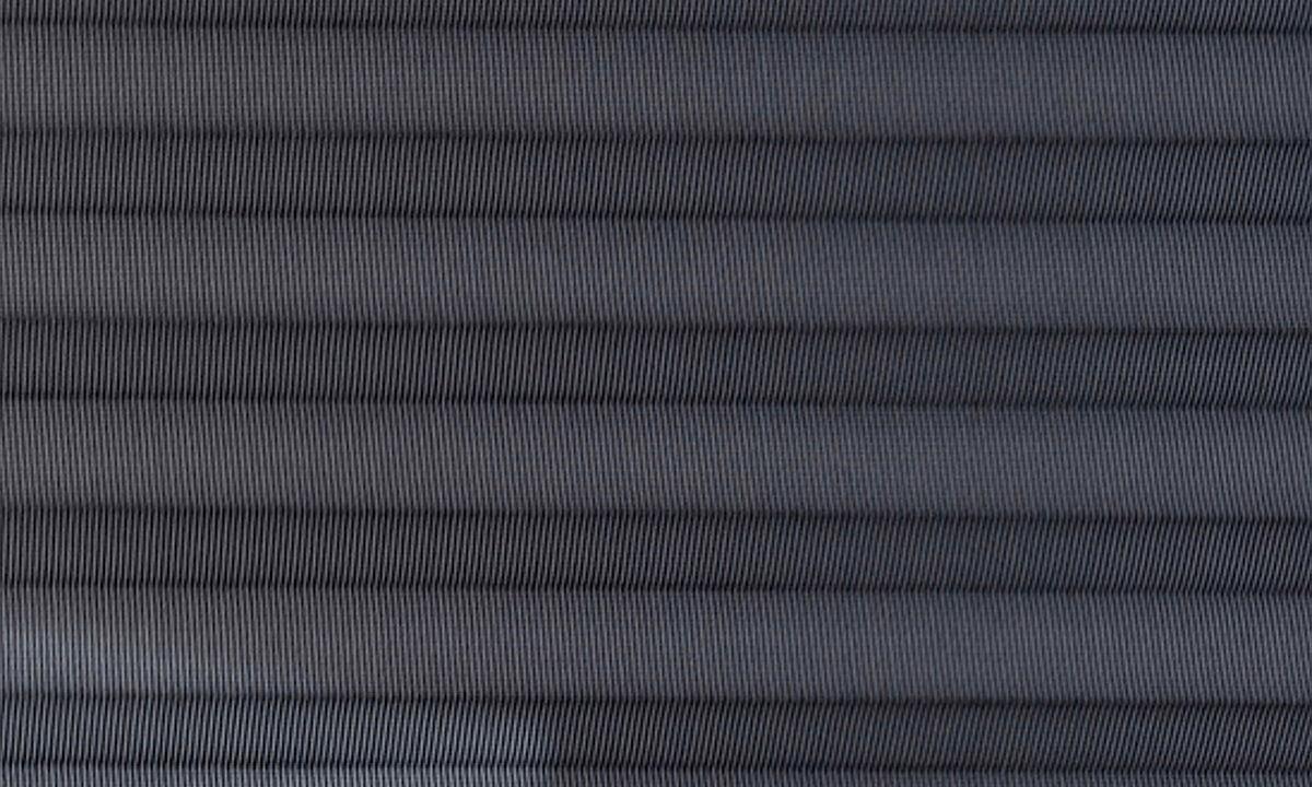 Plisséväv New york 7110 - Transparent - Flamskyddad - Metalliserad baksida - Lämplig i fuktig miljö - Komposition: 100% Trevira CS - Ljusäkthet (färgäkthet): ≥ 5-7 beroende på färg - Prisgrupp 2