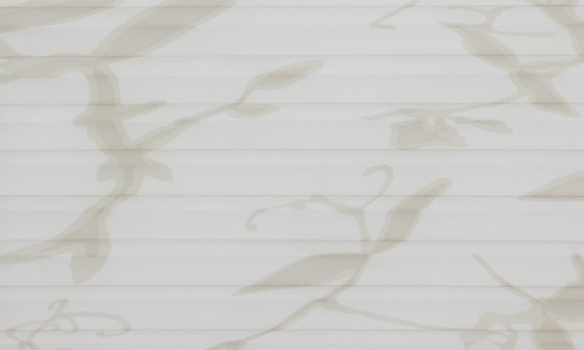 Plisséväv Valencia 2731 - Semitransparent - Lämplig i fuktig miljö - Komposition: 100% polyester - Ljusäkthet (färgäkthet): ≥ 5-7 beroende på färg - Prisgrupp 1