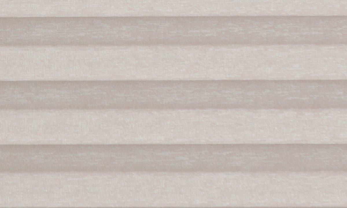 Plisséväv Tigris pearl 1472 - Semitransparent - Lämplig i fuktig miljö - Komposition: 100% polyester - Ljusäkthet (färgäkthet): ≥ 5-7 beroende på färg - Prisgrupp 1