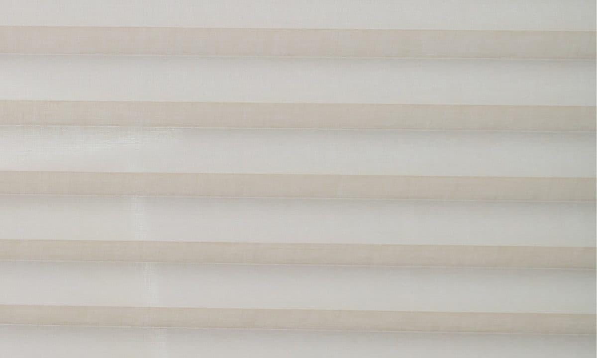 Plisséväv Venedig 4102 - Lämplig i fuktig miljö - Komposition: 100% polyester - Ljusäkthet (färgäkthet): ≥ 5-7 beroende på färg - Transparent - Prisgrupp 1
